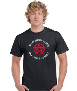 an it harm none pagan shirt