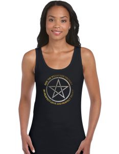 bide the wiccan rede pagan shirt