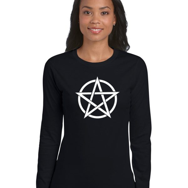pentacle ladies pagan shirt