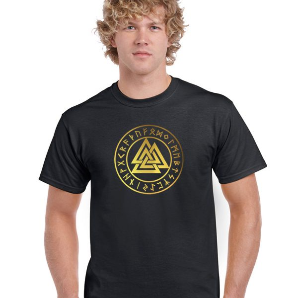 pentacle with valknut shirt