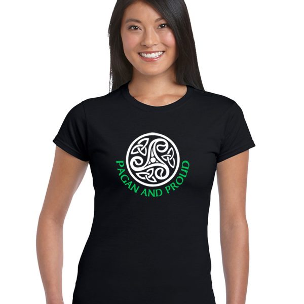 pagan and proud celtic pattern shirt