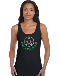 pagan and proud pentacle shirt