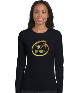 pagan inside ladies shirt