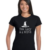 this lady is a witch pagan top
