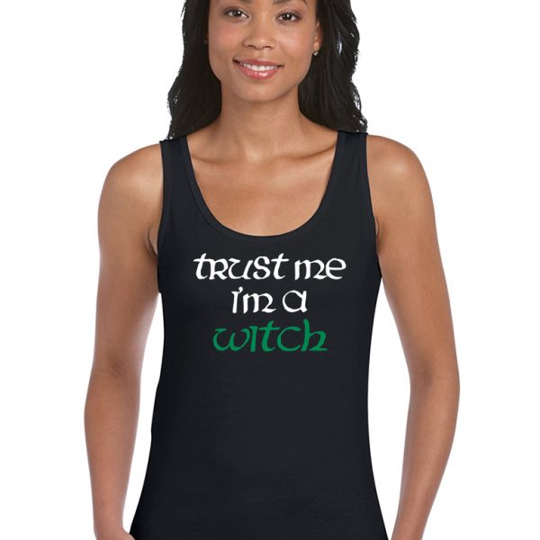 trust me i'm a witch ladies pagan top