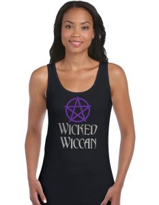 wicked wiccan ladies shirt