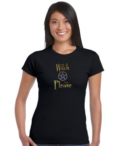 witch please ladies pagan top