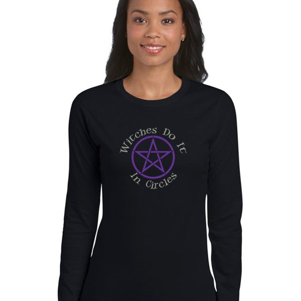 witches do it in circles ladies pagan shirt