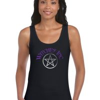 witches inc ladies pagan shirt