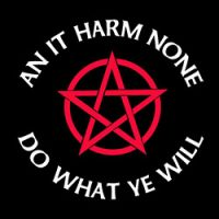 an it harm none pagan design