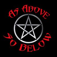 as above so below pagan design