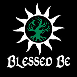 blessed be pagan design