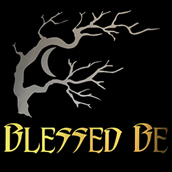 blessed be with barren tree pagan design