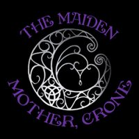 maiden mother and crone ladies pagan top