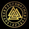 pentacle with valknut