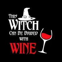this witch can be bribed with wine