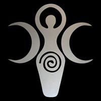 triple goddess pagan symbol