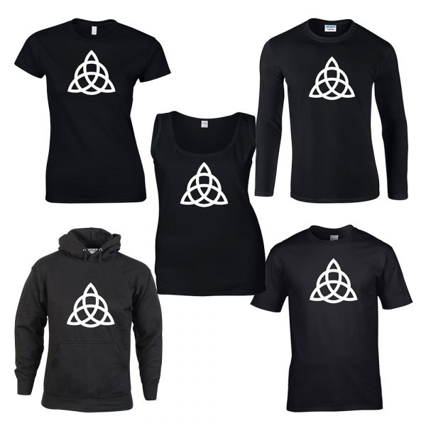 triquetra pagan shirt design