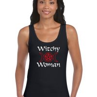 witchy woman pagan top