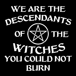 we are the descendants of the witches you couldn't burn pagan top