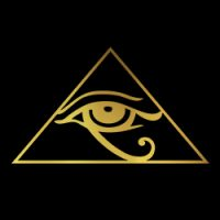 eye of horus pagan design