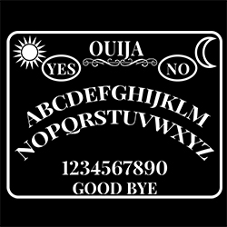ouija board pagan design