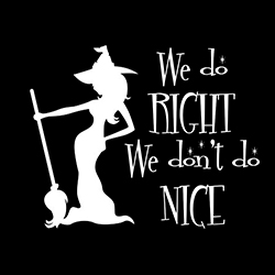we do right we don't do nice ladies pagan top