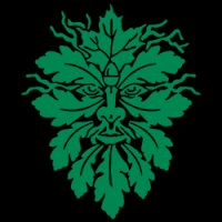 the green man pagan design