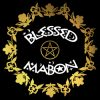 blessed mabon ladies pagan design