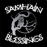 samhain blessings pagan design